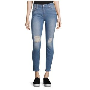 7 For All Mankind Skinny Distressed Jean Gwenevere
